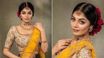 Sanam Shetty looking like a princess in this ensemble