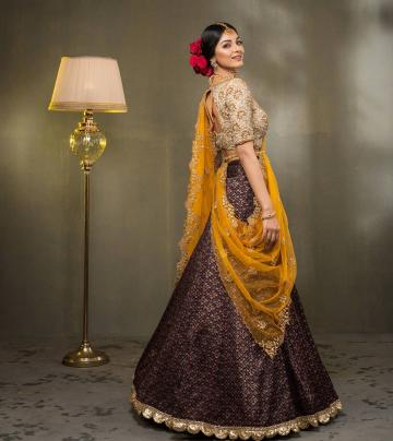 We love the dramatic, rose-covered bun that Sanam is sporting - Fashion Models