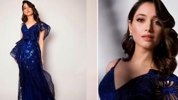 Tamannaah Bhatia's 3D embossed gown is a regular ramp product