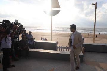 Nawazuddhin Siddiqui gave an interview at Sun n' Sand in Mumbai ahead of the release of his movie Motichoor Chaknachoor - Fashion Models