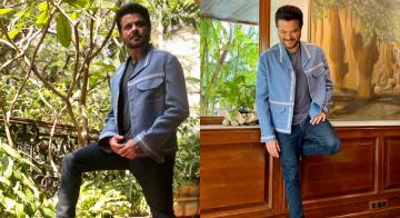 Anil Kapoor looks younger than ever in this powder blue jacket