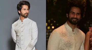 Shahid Kapoor's white sherwani is game on the next level