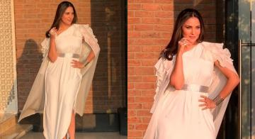 We're loving Lara Dutta's Greek goddess outfit