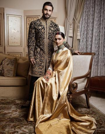 For their reception in Bengaluru, they had decked up in complementary colours of black and off white - Fashion Models