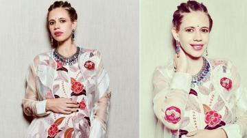Kalki Koechlin's floral outfit is rather pretty