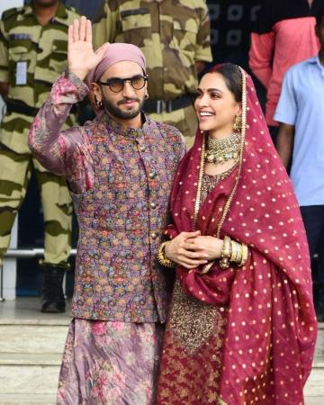 They looked like the perfect Punjabi couple in this couple ensemble from Sabyasachi - Fashion Models