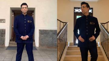 Karan Johar's IFFI suit is dapper