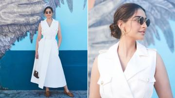 Sonam Kapoor vacationing in style