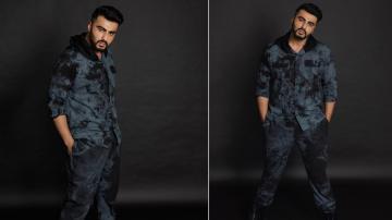 Arjun Kapoor is dapper as always in this dark ensemble