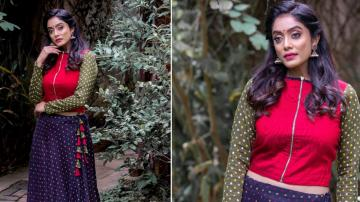 Abhirami Venkatachalam looking clueless in this outfit - Fashion Models