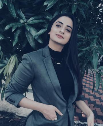 Namitha Pramod was recently spotted in this suit from Men in Q that we love - Fashion Models