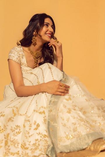 The gold threadwork on the outfit is perfect, but this is an age-old combination in usual embroidery work - Fashion Models