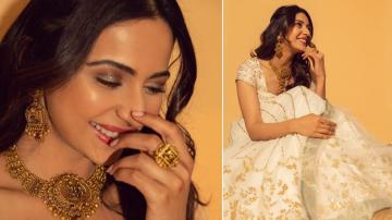 Rakul Preet's white and gold awesomeness