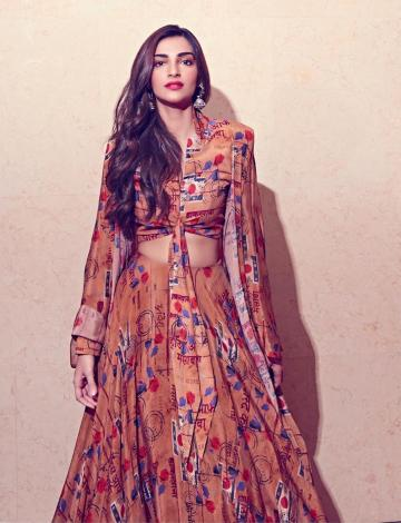 Sonam Kapoor recently showcased a lehenga from the Rhea-Masaba collection and we're loving it - Fashion Models