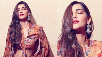 Check out Sonam Kapoor's nomadic looking lehnga