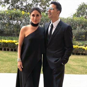Kareena Kapoor Khan arrived for the HT Summit Awards wearing this sleek black outfit from Eli Saab - Fashion Models