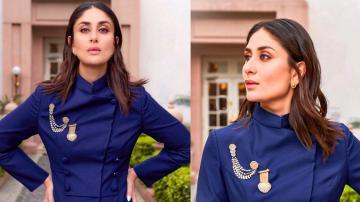 Kareena Kapoor Khan's bandhgala suit is chic and classy