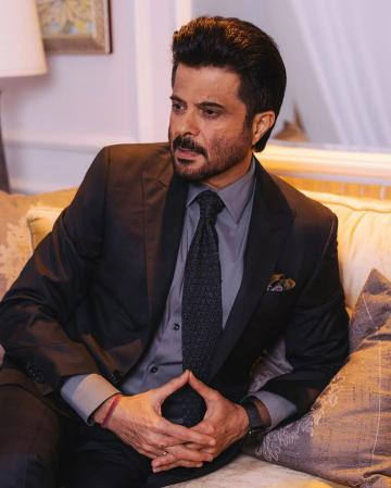Anil Kapoor was recently seen at an event looking dapper as usual in this suit from Canali. Special mention: the pocket square from Tomford - Fashion Models