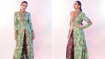 Karishma Kapoor's ethnic outfit is just fabulous!