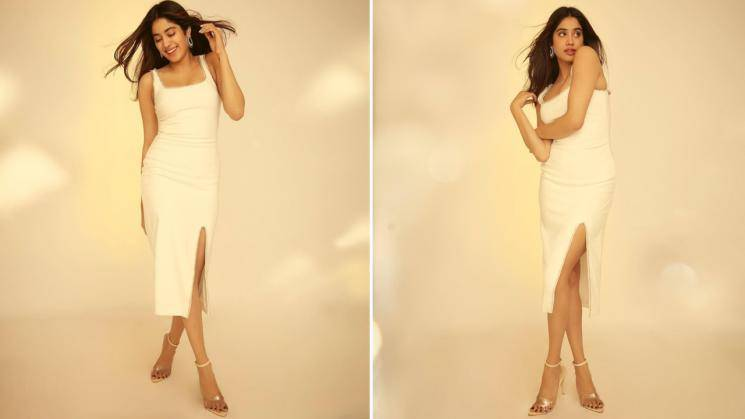 Jhanvi Kapoor looking flawless in white