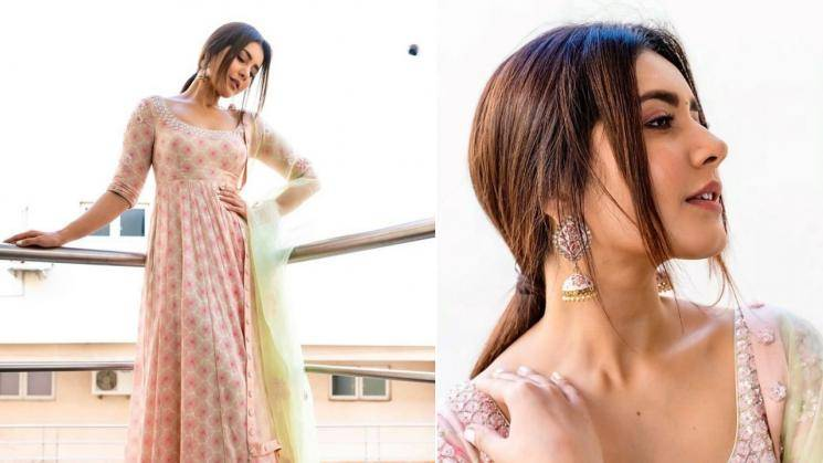 Raashi Khanna's pastel outfit is so sweet!