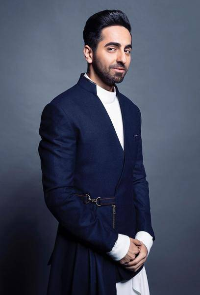 Ayushmann Khurrana attended the national awards night looking dramatic in this outfit from Shantanu Nikhil - Fashion Models