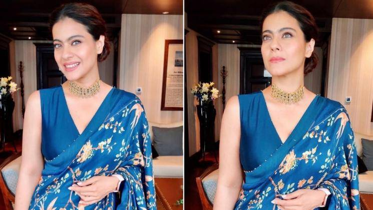 Kajol's saree is a timeless number