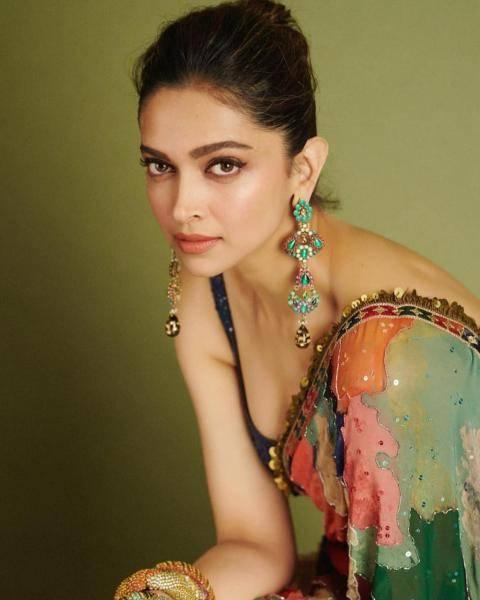 Deepika Padukone Singh was seen promoting Chhapaak in Mumbai wearing this saree from Sabyasachi - Fashion Models