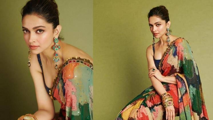 Deepika Padukone Singh's saree is a cool year ender