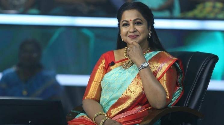 Radhika Sarathkumar looking like a million - we mean, crore - bucks!