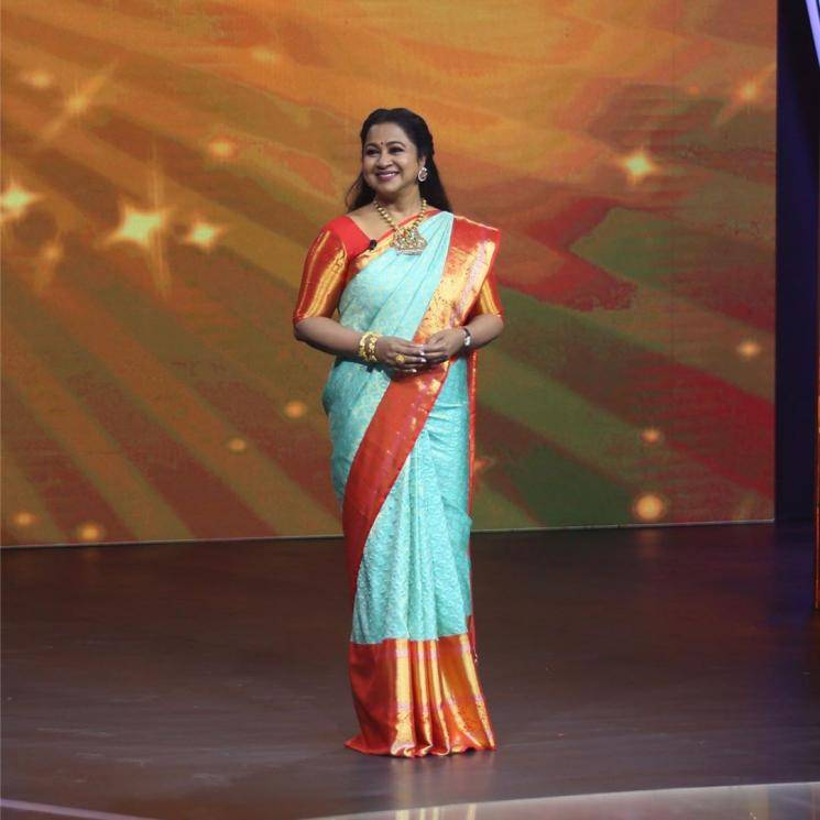 Well, we love a well-adorned silk saree in a combination like turquoise and orange any given day - Fashion Models