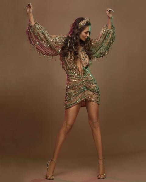 Malaika Arora was recently spotted in this hot, glittery dress from The Doll House - Fashion Models