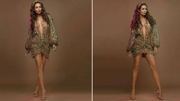 Malaika Arora scintillating in this gold outfit