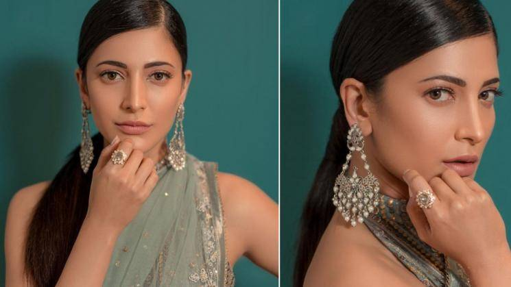 Here is a look we absolutely love on Shruthi Haasan!
