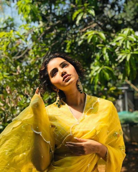 Anupama Parameswaran was recently dressed in this sunshine saree from Label Affair - Fashion Models