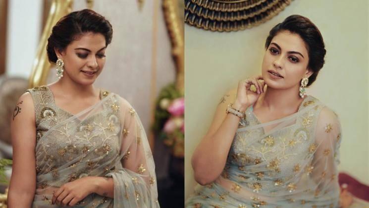 Anusree stunning people at Bhama's wedding