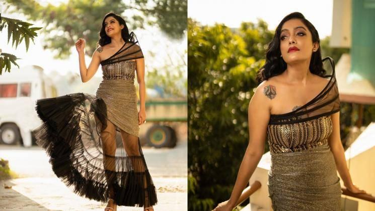 That ain't a flattering gown, Abhirami Venkatachalam