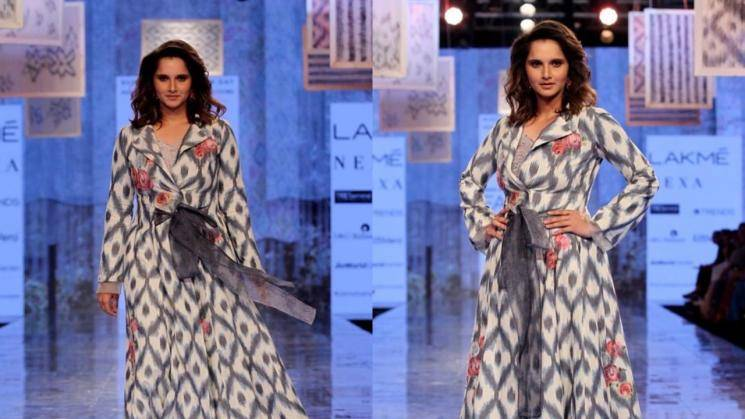 Sania Mirza looking good in this handloom outfit - Fashion Actors