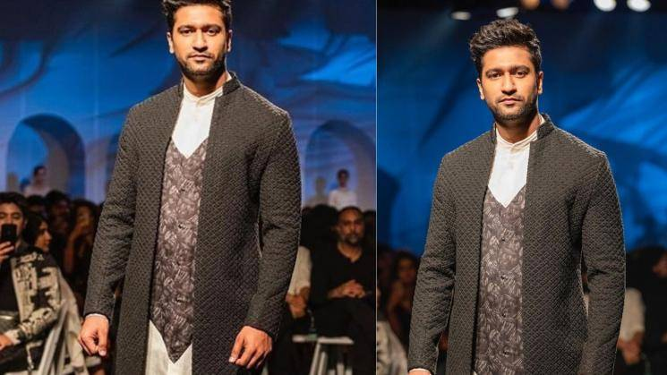 Vicky Kaushal looking dapper in knotted jacket - Fashion Actress