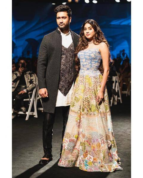 Vicky Kaushal walked the Lakme Fashion Week ramp for designer Kunal Rawal looking dapper in this refined ensemble  - Fashion Models