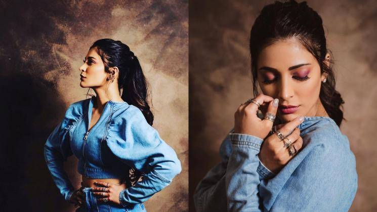 Check out Shruthi Haasan's comfy denim outfit