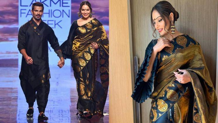 Bipasha Basu is making smaller traditions cool with this Mekhla Chador