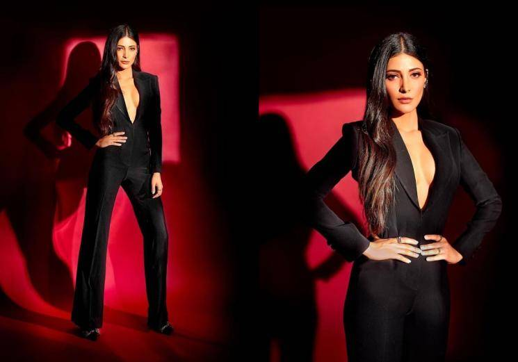 Shruthi Haasan is causing heartburn in this outfit