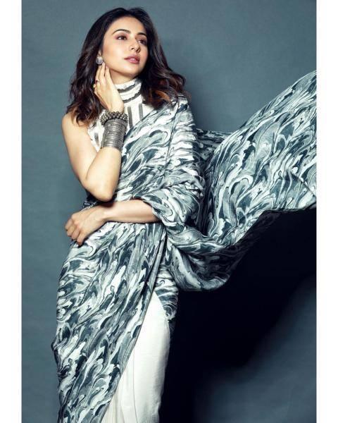 Rakul Preet draped a saree from Limerick and we cant keep calm - Fashion Models