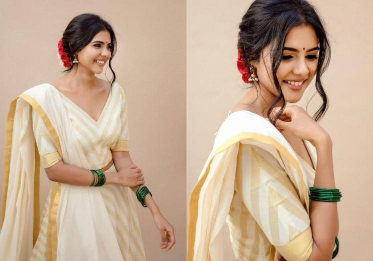 Kalyani Priyadarshan charming Malayalee hearts