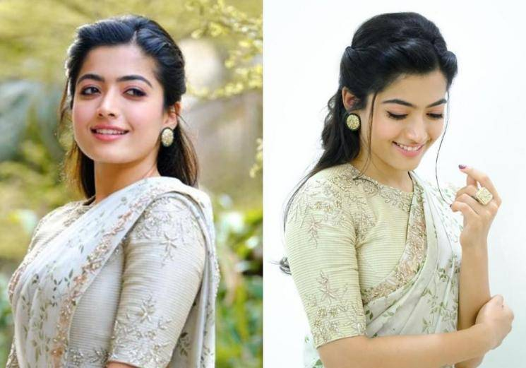 Rashmika Mandanna looking like a dream in this saree!