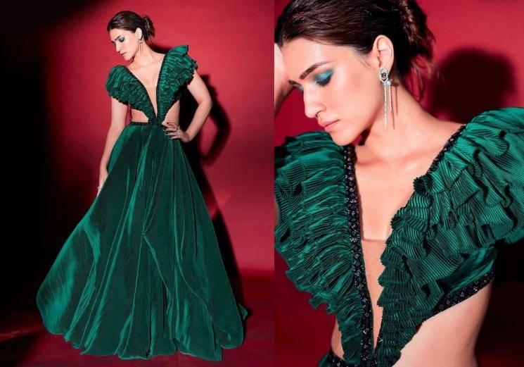 Kriti Sanon spreading some emerald love