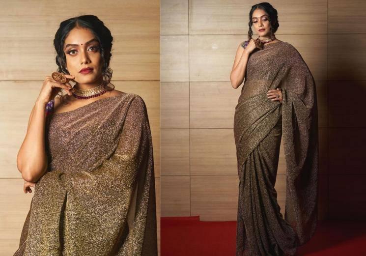 Check out Abhirami Venkatachalam's 'dinner saree'