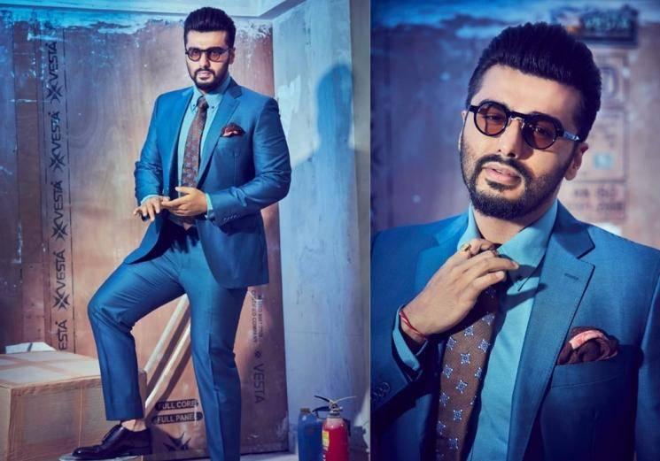Arjun Kapoor's blue suit is electrifying!