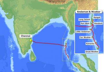 Chennai-Andaman submarine cable systems project to be completed by 2020 - Daily news